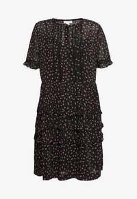 Topshop - DITSY LADDER TRIM MINI - Korte jurk - black - 4
