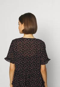 Topshop - DITSY LADDER TRIM MINI - Korte jurk - black - 5