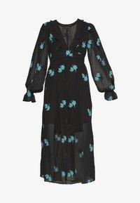 Topshop - EMBELLISHED MIDAXI - Korte jurk - black - 4