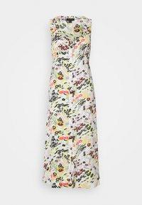 Topshop - MIDSUMER BUTTON THROUGH - Korte jurk - beige - 3