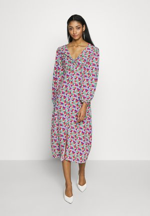 GODET TWIST MIDI - Day dress - multi