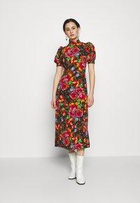 Topshop - ARCHIVE MIDI - Day dress - multi-coloured - 0