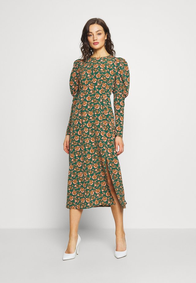 EMPIRE WAIST - Cocktailjurk - green