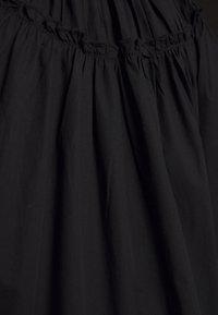 Topshop - SMOCK MIDI - Sukienka letnia - black - 2