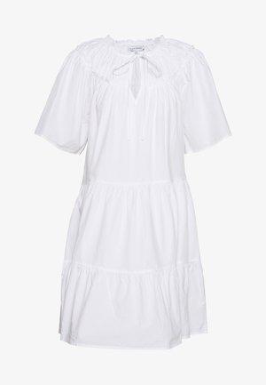 SMOCK MINI - Vestido informal - white