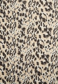 Topshop - ANIMAL BACKLESS  - Maxi-jurk - black/beige - 2