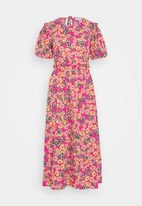 Topshop - DAISY BUBBLE MID - Korte jurk - pink - 0