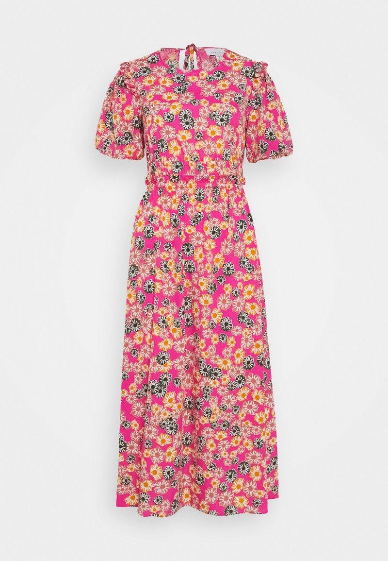Topshop - DAISY BUBBLE MID - Korte jurk - pink
