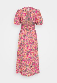 Topshop - DAISY BUBBLE MID - Korte jurk - pink - 1