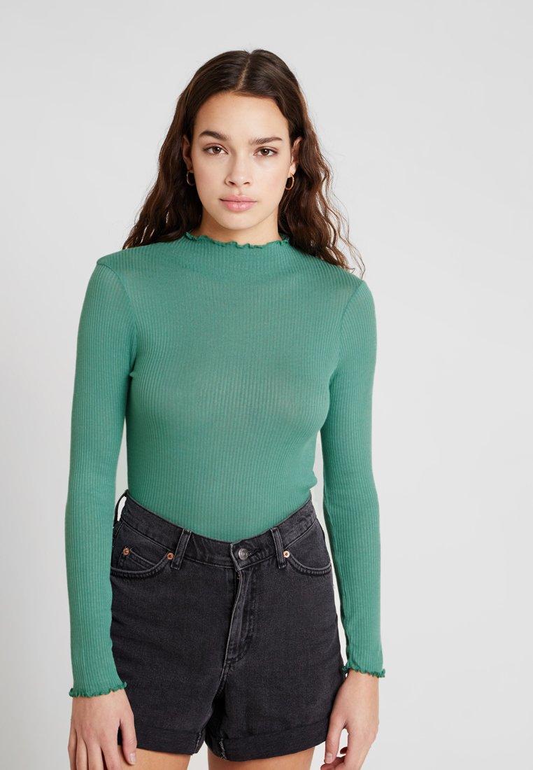 Topshop - LETTUCE - Langarmshirt - green