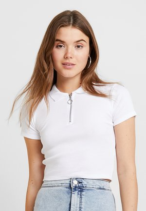 ZIP - T-Shirt print - white