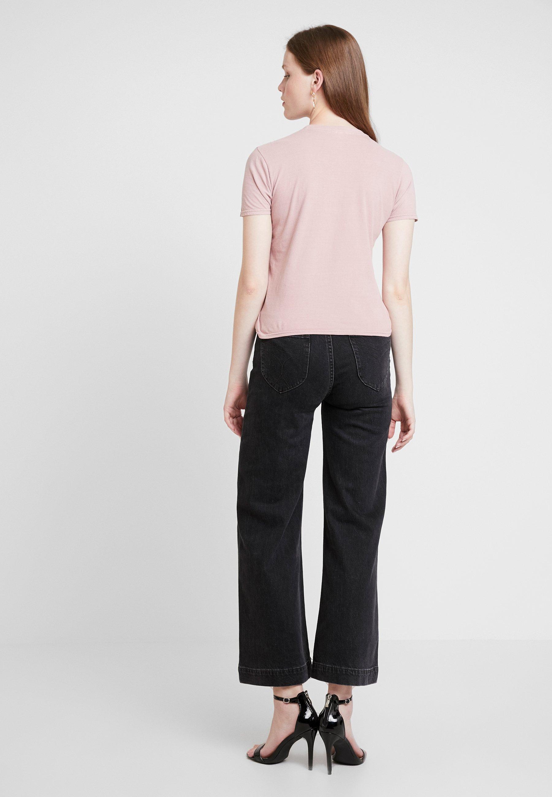 Imprimé Pink shirt Topshop TeeT Japan We9D2IYEH