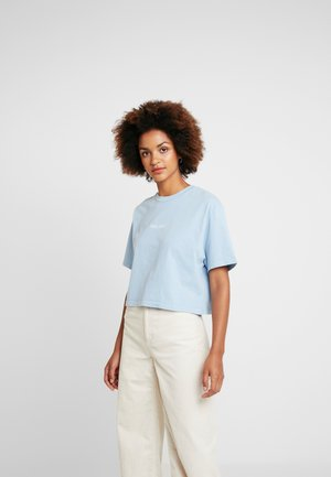 MALIBU WASHED TEE - T-shirt z nadrukiem - blue