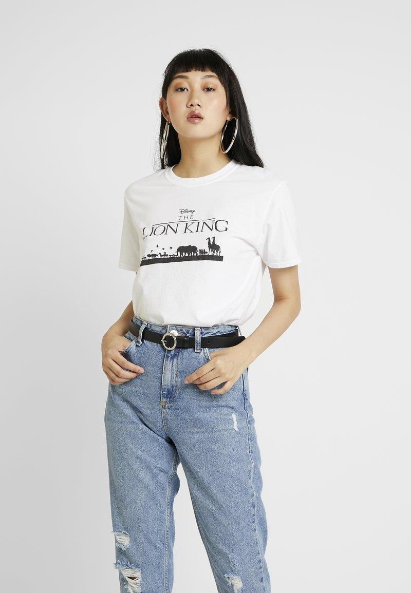 Topshop - LION KING TEE - T-Shirt print - off-white