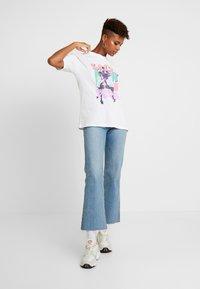 Topshop - SALT N PEPPER - T-shirt print - white - 1