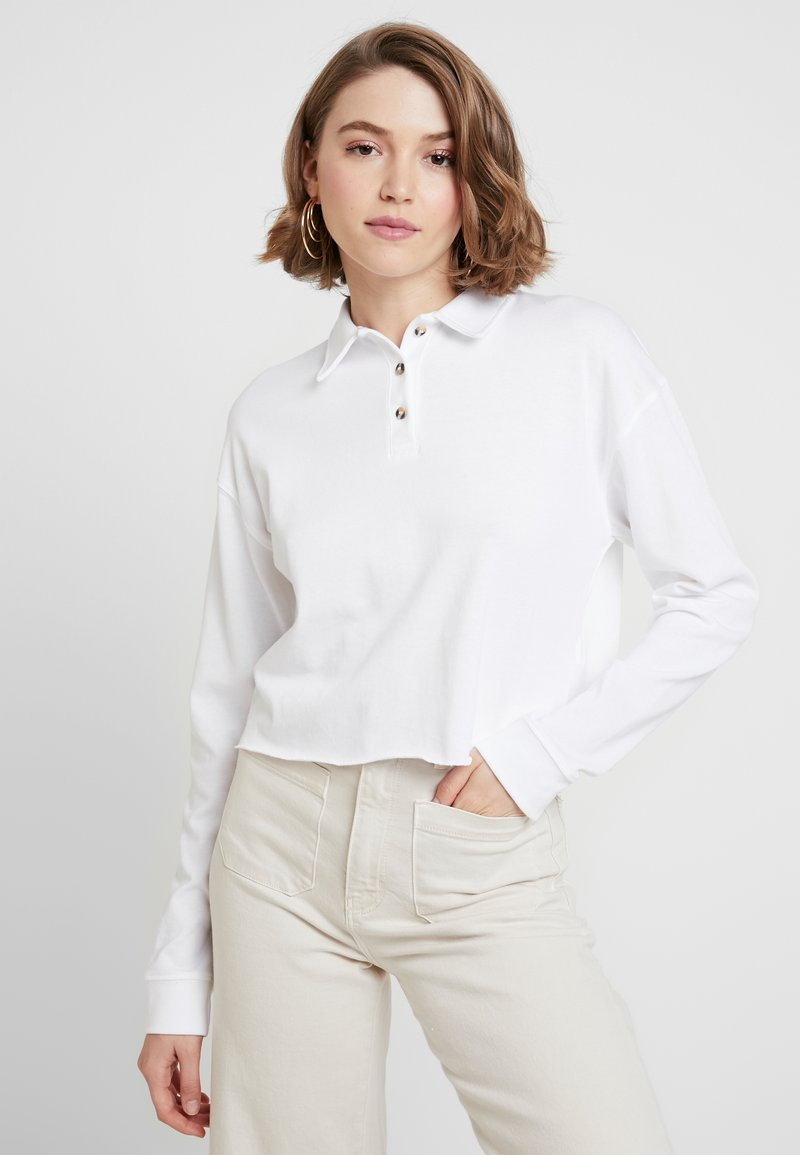 Topshop - RUGBY - Poloshirts - white
