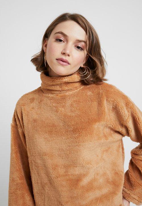 piękny Topshop JUMPER - Sweter - tan Odzież Damska UHXD-BJ7