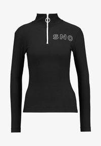 Topshop - SNO THERMAL - T-shirt sportiva - black - 4