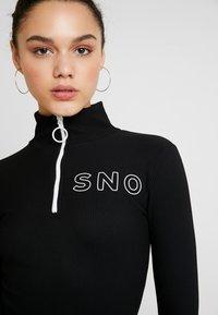 Topshop - SNO THERMAL - T-shirt sportiva - black - 5