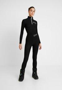 Topshop - SNO THERMAL - T-shirt sportiva - black - 1