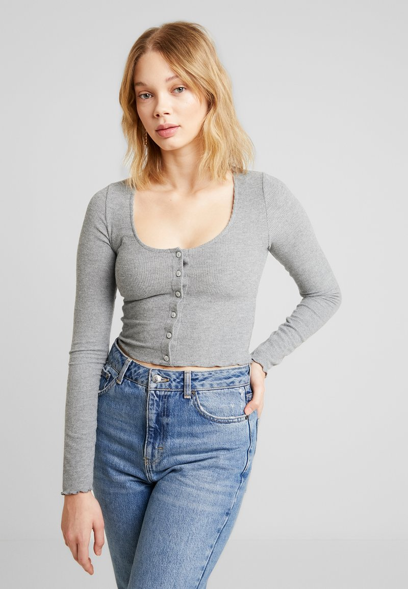 Topshop - Camiseta de manga larga - grey