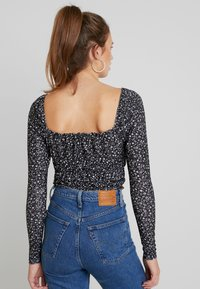 Topshop - FLORAL POINTELLE - Long sleeved top - multi - 2