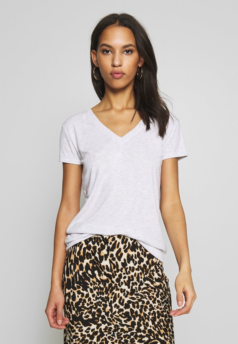Topshop - Camiseta estampada - grey