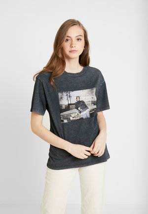 ICE CUBE TEE - Print T-shirt - grey