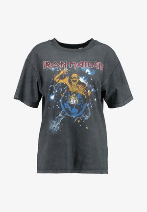 IRON MAIDEN - Print T-shirt - black