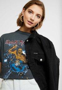 Topshop - IRON MAIDEN - Camiseta estampada - black - 3