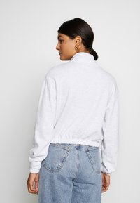 Topshop - BERLIN SOFT FUNNEL - Sweatshirt - grey melange - 2