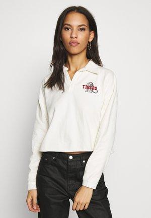 TIGER RUGBY LS - T-shirt à manches longues - ecru