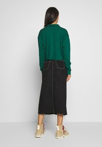 Topshop - RUGBY POLO - Longsleeve - green - 2