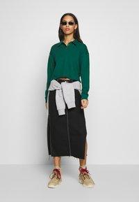 Topshop - RUGBY POLO - Bluzka z długim rękawem - green - 1