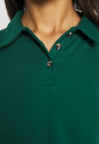 Topshop - RUGBY POLO - Long sleeved top - green - 5