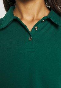 Topshop - RUGBY POLO - Langarmshirt - green - 5