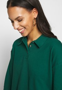 Topshop - RUGBY POLO - Long sleeved top - green - 3