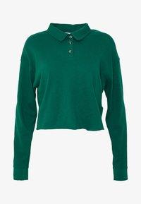 Topshop - RUGBY POLO - Bluzka z długim rękawem - green - 4