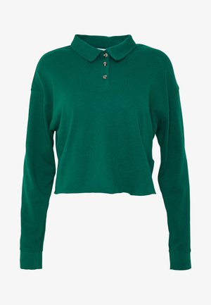 RUGBY POLO - Long sleeved top - green