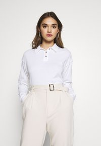 Topshop - RUGBY - Polo shirt - white - 0
