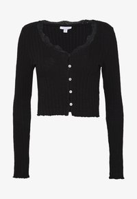 Topshop - CARDI - Long sleeved top - black - 3