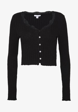 CARDI - Long sleeved top - black