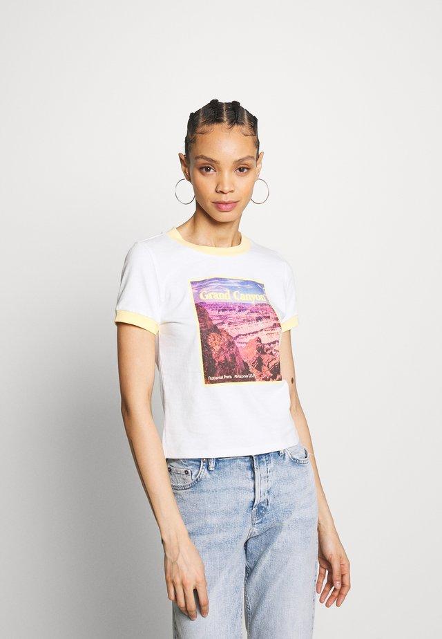 GRAND CANYON TEE - T-shirt print - cream