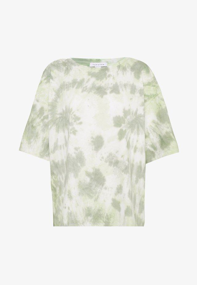 TIE DYE - T-shirt med print - multi