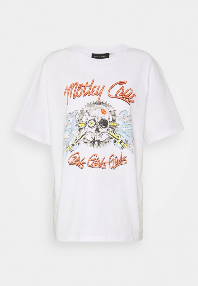 MOTLEY CREW TEE BY AND FINALLY - T-Shirt print - white