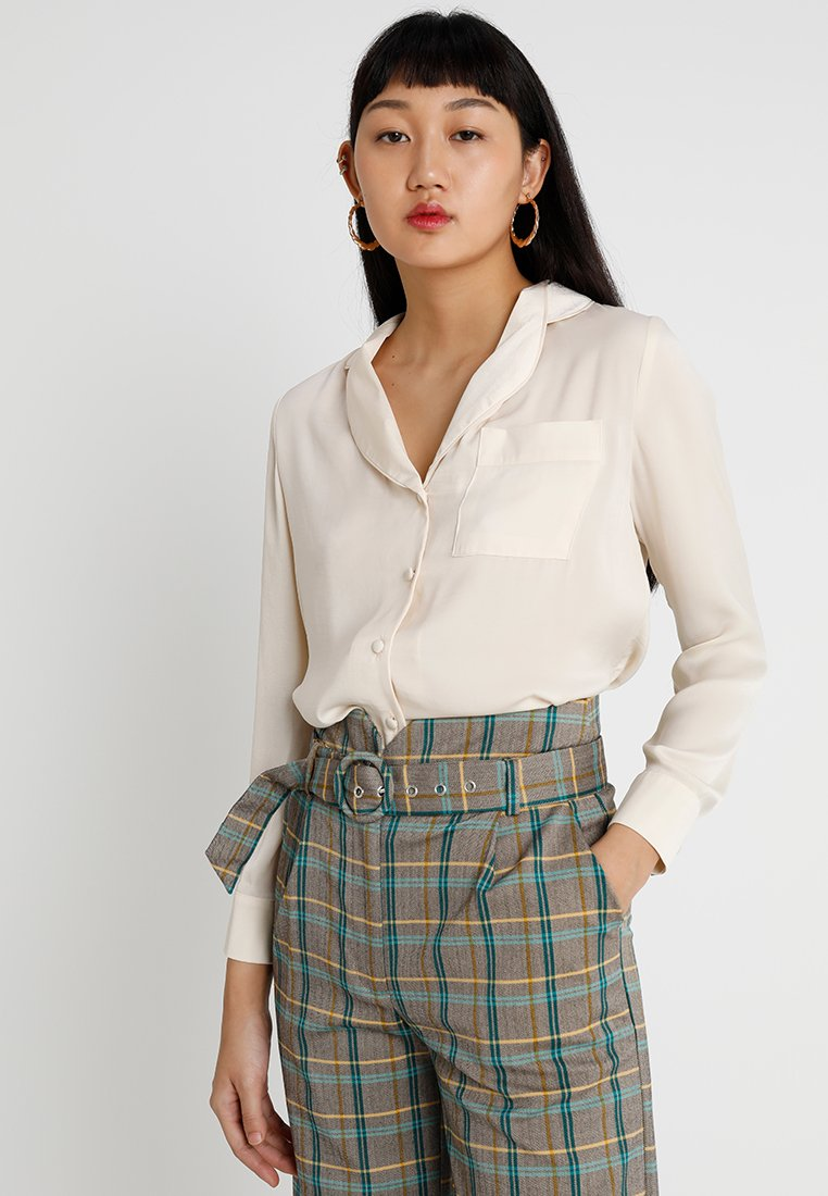 Topshop - FLATILDA  - Blouse - off-white
