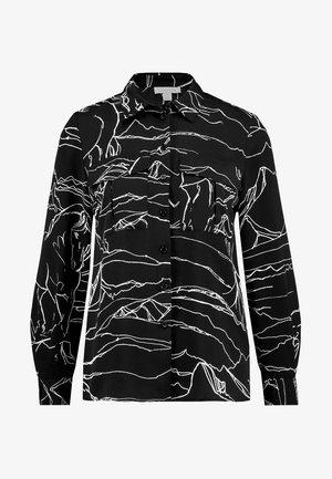 HORSE PRINT - Skjortebluser - black