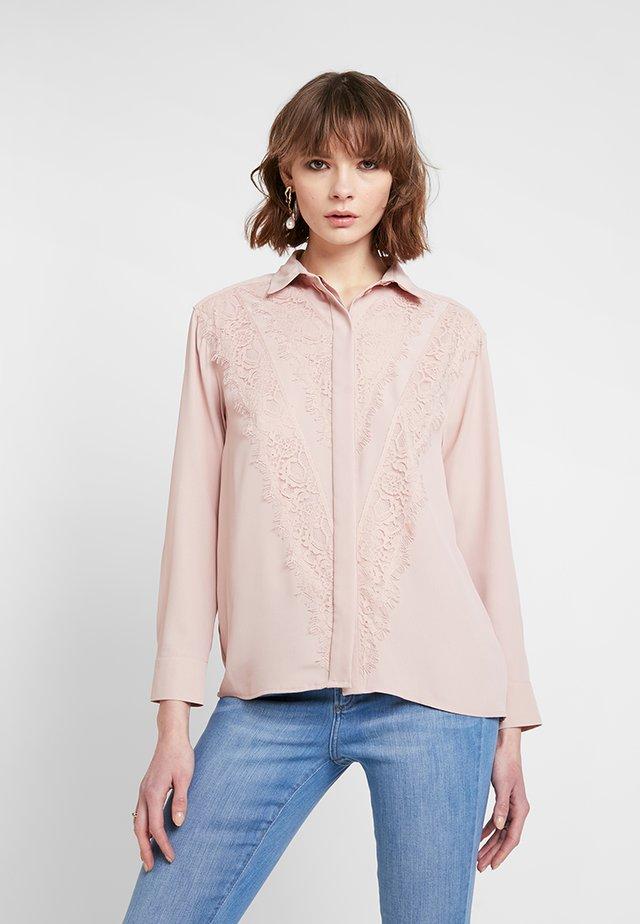Overhemdblouse - blush