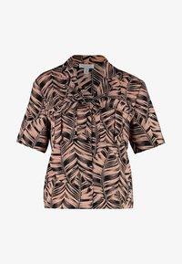 Topshop - PALM BOWLER - Camisa - pink - 4
