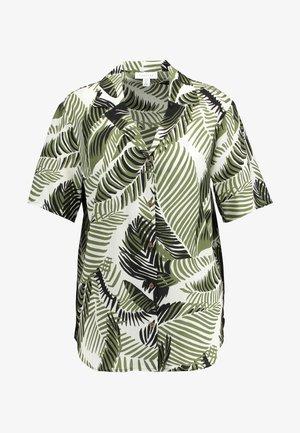 HAWAIIAN PRINT BOWLER - Overhemdblouse - green